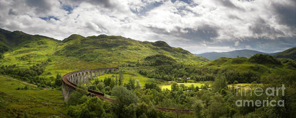 Wall Art - Photograph - Glenfinnan Viaduct Panorama by Jane Rix