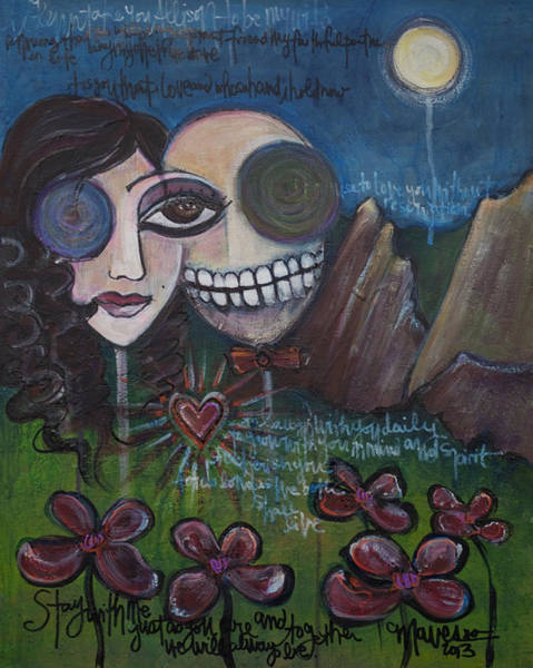 Painting - Glenn And Allison by Laurie Maves ART