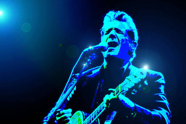 Wall Art - Digital Art - Glenn Frey In Blue by Martin James