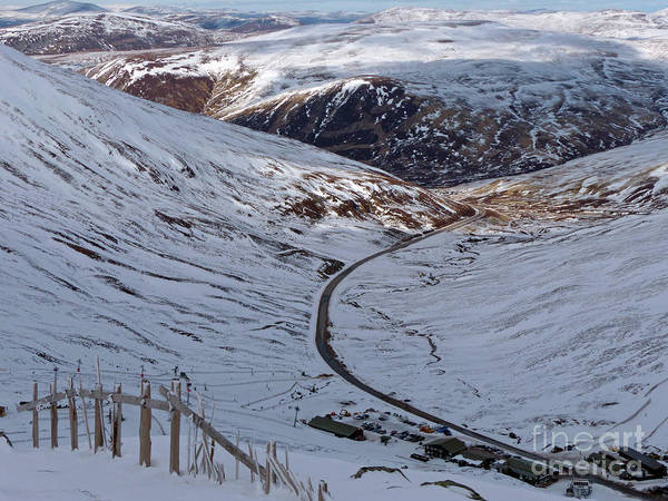 Photograph - Glenshee Ski And A93 by Phil Banks