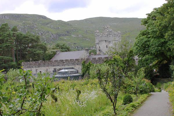 Photograph - Glenveagh Castle Gardens 4287 by John Moyer