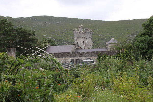 Photograph - Glenveagh Castle Gardens 4296 by John Moyer