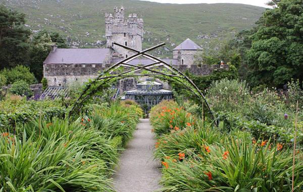 Photograph - Glenveagh Castle Gardens 4298 by John Moyer