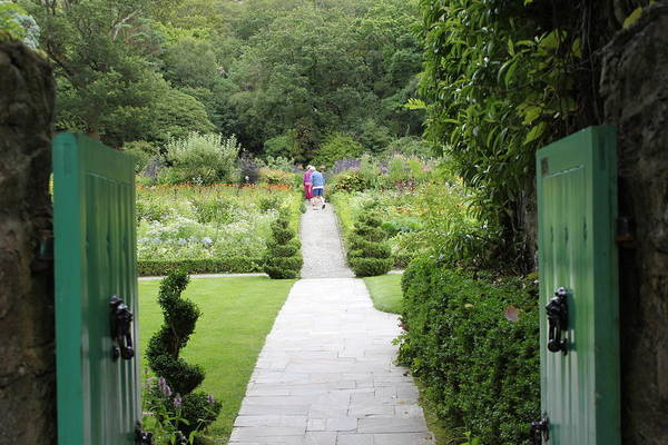 Photograph - Glenveagh Castle Gardens 4272 by John Moyer