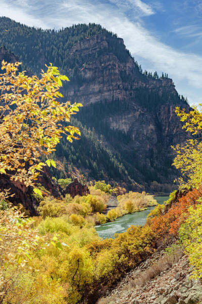 Photograph - Glenwood Canyon And Colorado River by Jemmy Archer