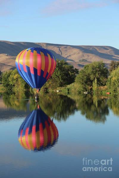 Wall Art - Photograph - Gliding On The Yakima River by Carol Groenen