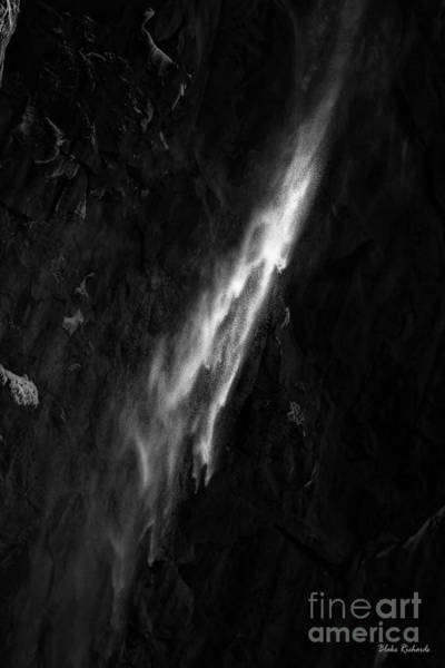 Photograph - Glimmer Of  Yosemite Water by Blake Richards