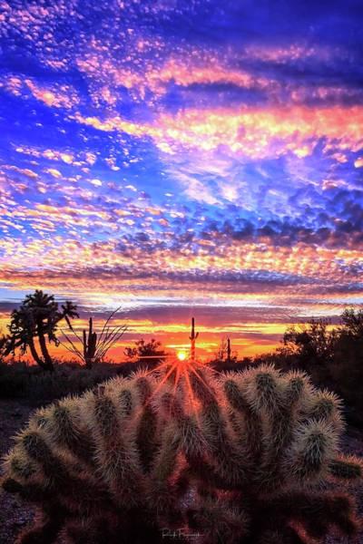 Glimmering Skies Art Print