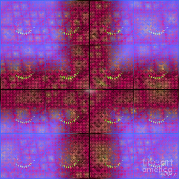 Digital Art - Glitch by Walter Neal