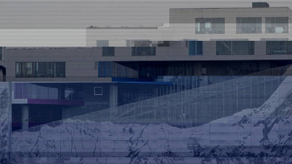 Wall Art - Photograph - Glitched Image - Vm-bjerget 4 by GLASSLABS by Susanne Layla Petersen