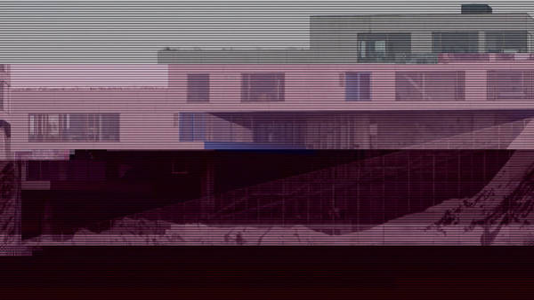 Wall Art - Photograph - Glitched Image - Vm-bjerget 1 by GLASSLABS by Susanne Layla Petersen