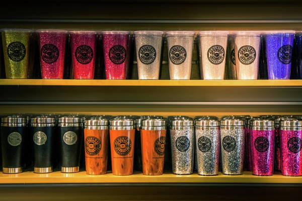 Wall Art - Photograph -  Glitter Tumbler And Mug  by Art Spectrum