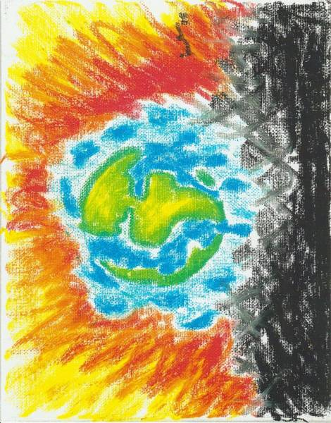 Painting - Global Warming by Adekunle Ogunade