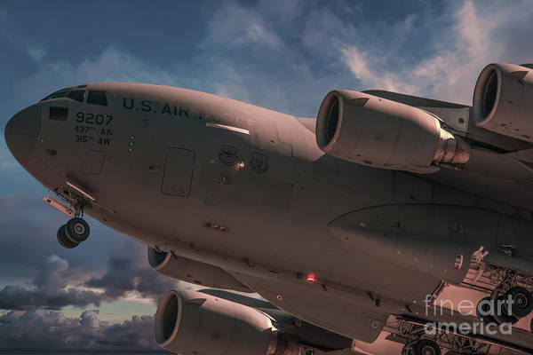 Photograph - Globemaster C17 by Dale Powell