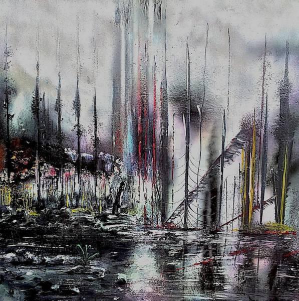 Wall Art - Painting - Gloomy Sunday by Nandor Molnar