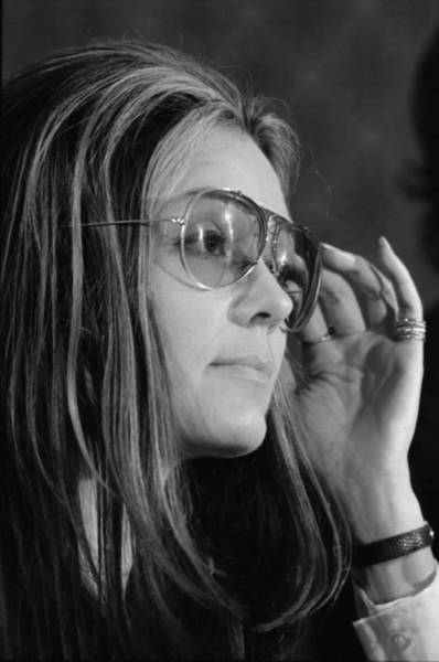Gloria Photograph - Gloria Steinem B. 1934, Feminist by Everett