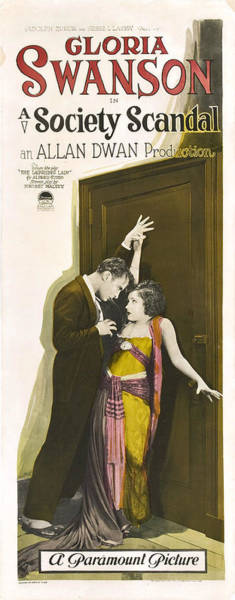Gloria Swanson In Society Scandal 1924 Art Print