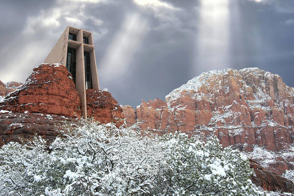 Red Rocks Of Sedona Photograph - Glorious Chapel Of The Holy Cross by Donna Kennedy