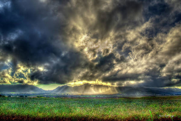 Wall Art - Photograph - Glorious Clouds Dole Plantation Wahiawa Oahu Hawaii Collection Art by Reid Callaway