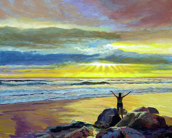 Painting - Glorious Day by Lynn Hansen
