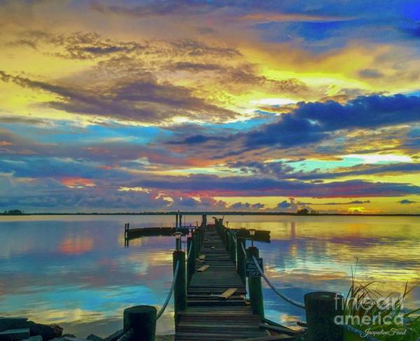 Photograph - Glorious Dock by Jacqueline Faust