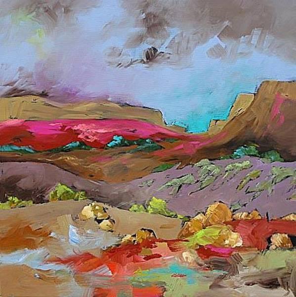 Fauve Painting - Glorious Southwest by Linda Monfort