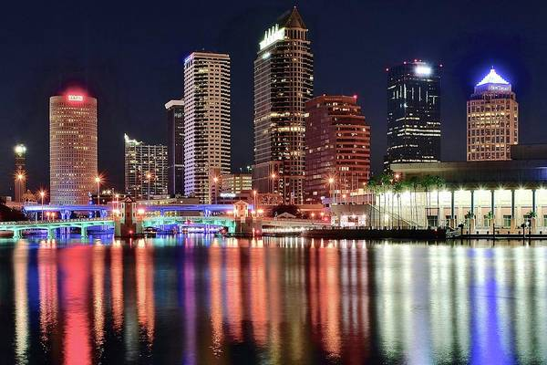 Municipality Photograph - Glorious Tampa Bay Florida by Frozen in Time Fine Art Photography
