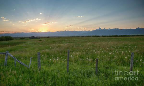 Wall Art - Photograph - Glorious Teton Sunrise by Idaho Scenic Images Linda Lantzy