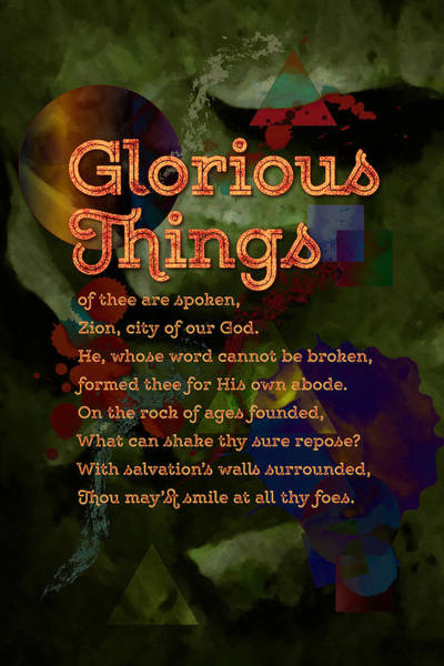 Digital Art - Glorious Things Of Thee Are Spoken by Chuck Mountain