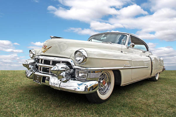 Photograph - Glory Days - '53 Cadillac by Gill Billington