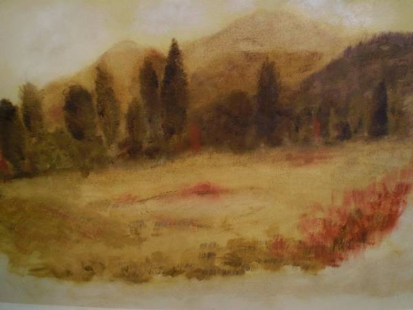 Wall Art - Painting - Glory In The Mountains by Michael L Brown