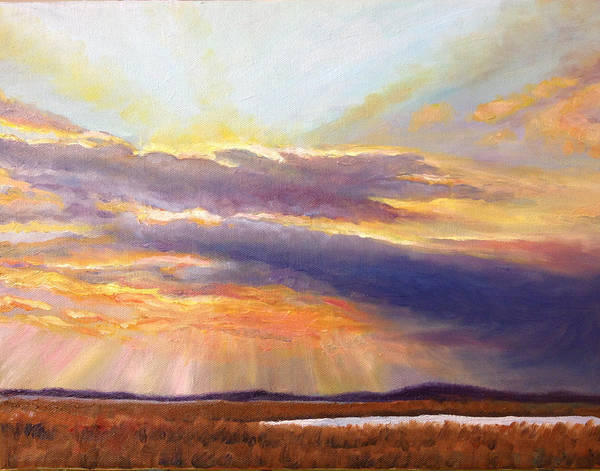 Painting - Glory Lights by Rod Seel