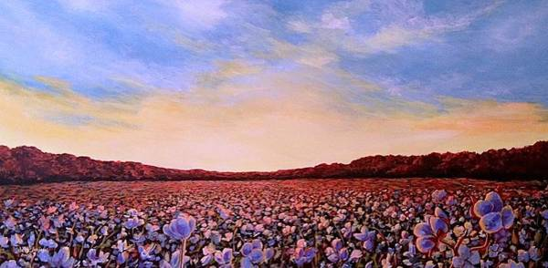 Painting - Glory Of Cotton by Jeanette Jarmon