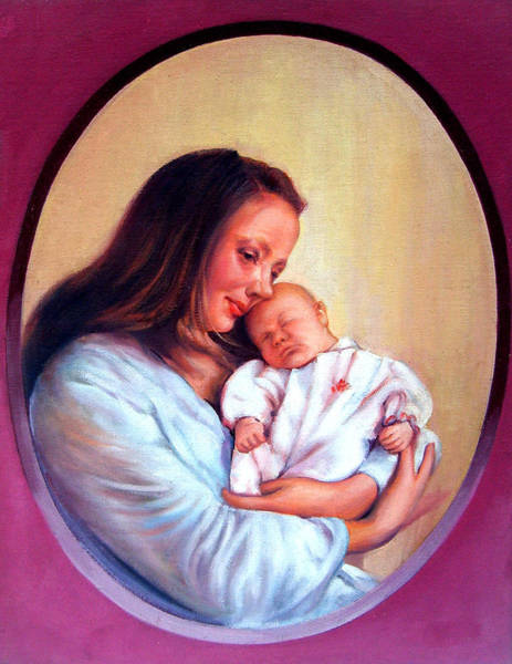 Endless Love Painting - Glory Of Motherhood by Dileep