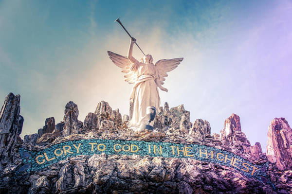 Inri Wall Art - Photograph - Glory To God In The Highest by Art Spectrum