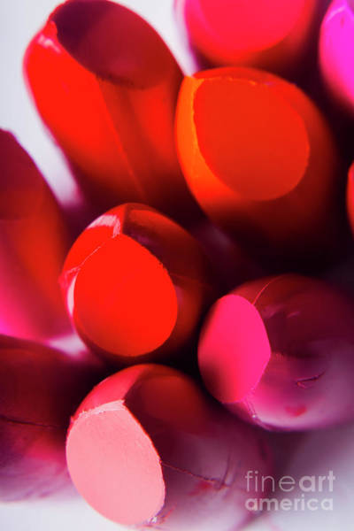 Photograph - Glossy Beauty Products by Jorgo Photography - Wall Art Gallery