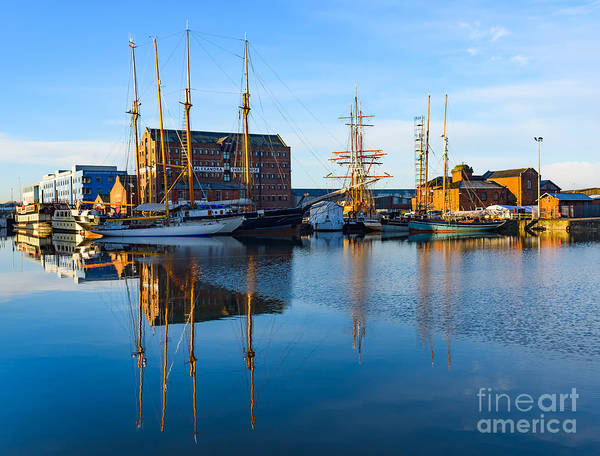 Photograph - Gloucester Docks by Colin Rayner
