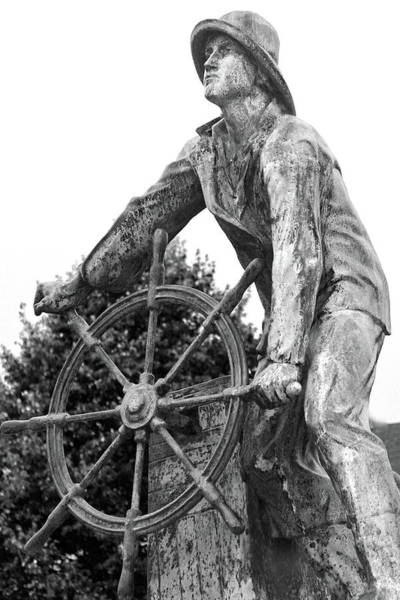 Wall Art - Photograph - Gloucester Fisherman's Memorial by Mitch Cat