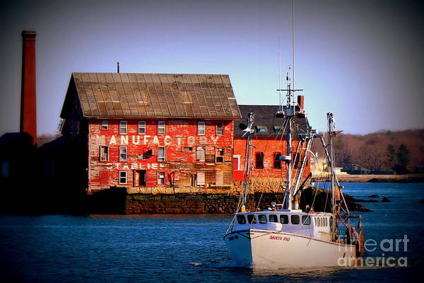 Wall Art - Photograph - Gloucester Industry by Hanni Stoklosa