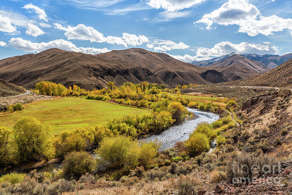 Photograph - Glow Of The East Fork Idaho Landscape Art By Kaylyn Franks by Kaylyn Franks