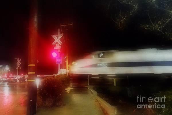 Photograph - Glow Rails by Jenny Revitz Soper