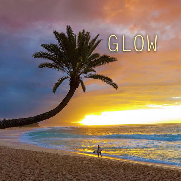 Hawaiian Sunset Photograph - Glow. by Sean Davey