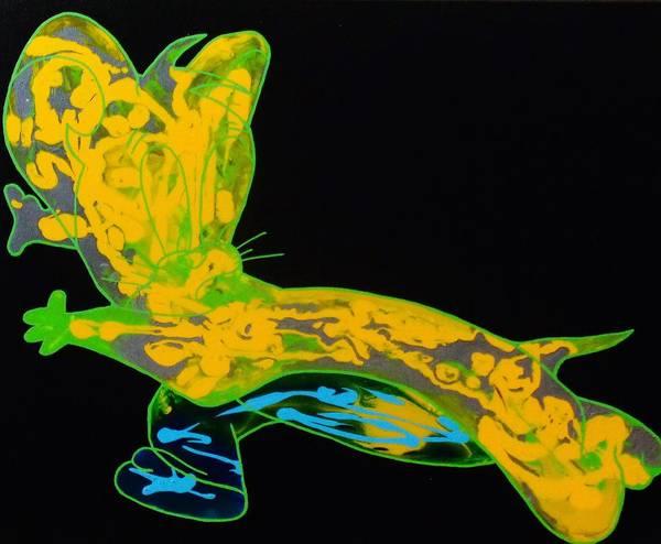 Painting - Glow Stick by Dane Newton