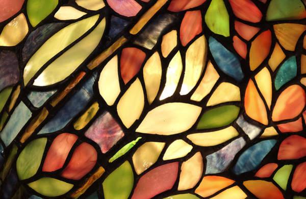 Photograph - Glowing Glass Art Pattern by Dreamland Media