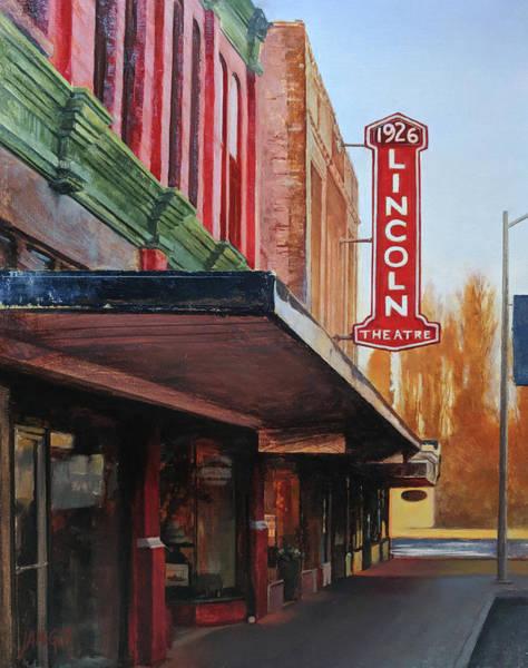 Skagit Valley Painting - Glowing Revue by Jennifer Ann McGill