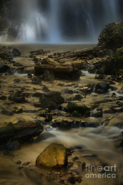 Photograph - Glowing Rock by Adam Jewell