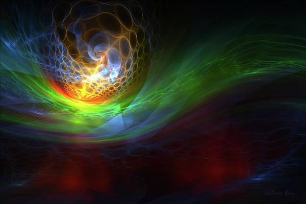 Julian Digital Art - Glowing Skies by Julian Ray