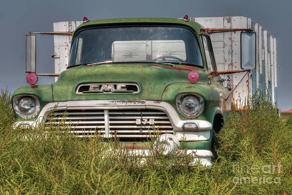 Wall Art - Photograph - Gmc Farm Truck by Rick Mann