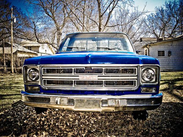 Topeka Wall Art - Photograph - Gmc Pickup by Craig Perry-Ollila