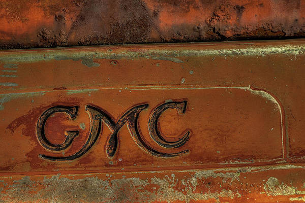 Photograph - Gmc Truck Hood by Jerry Gammon